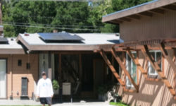 Solar energy for private homes is becoming more affordable